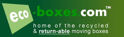 Returnable Recycled Moving Boxes